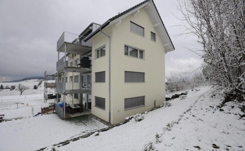 Neubau 8-Familienhaus, Schwarzenburg