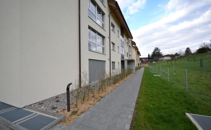 Neubau zwei Mehrfamilienhäuser, Orpund